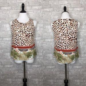 🎉Pick 5 For $20 Christopher & Banks cheetah flora